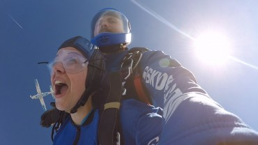 Leanne Cameron's skydive 2018