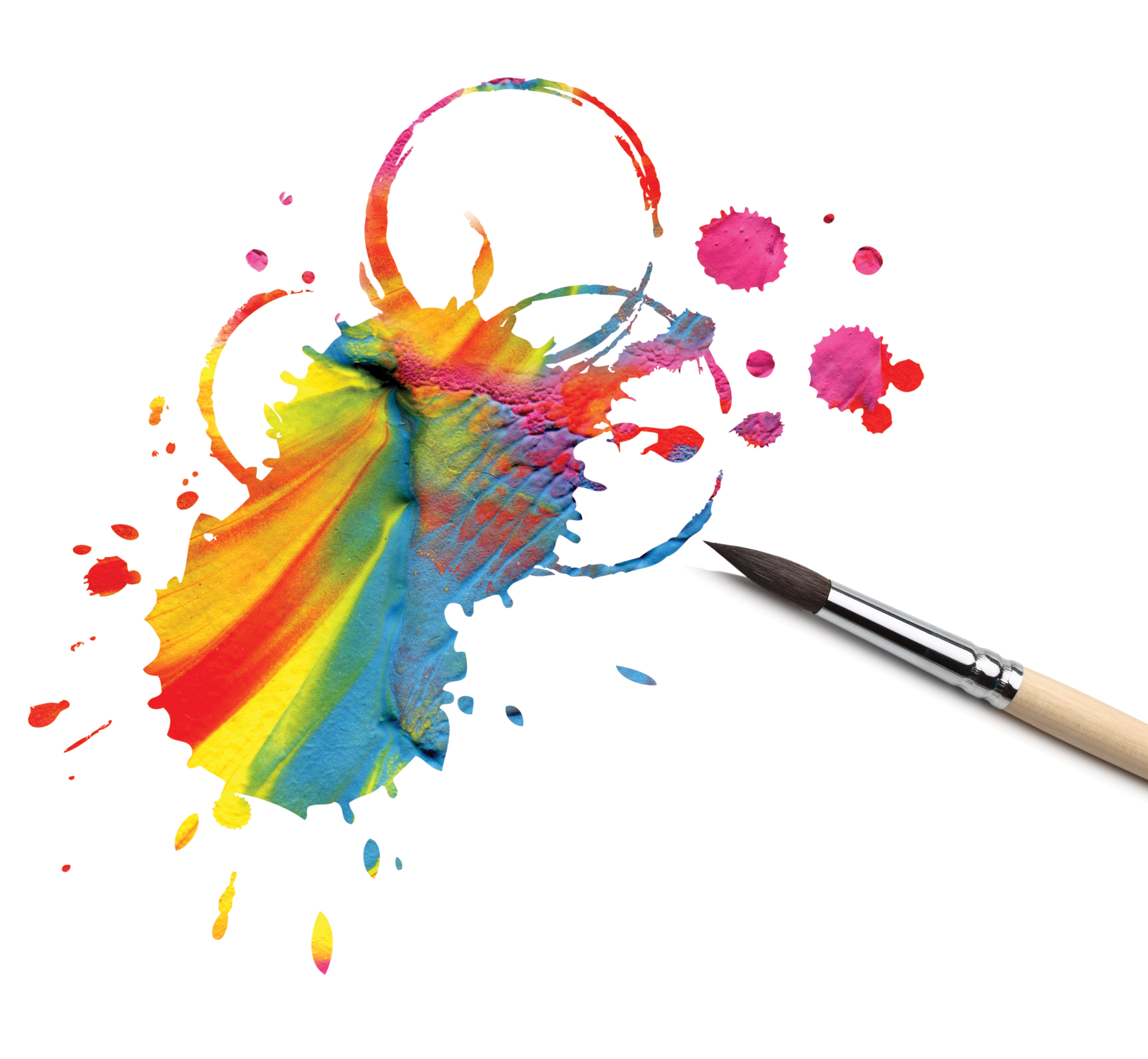 Painting Of Art Brushes