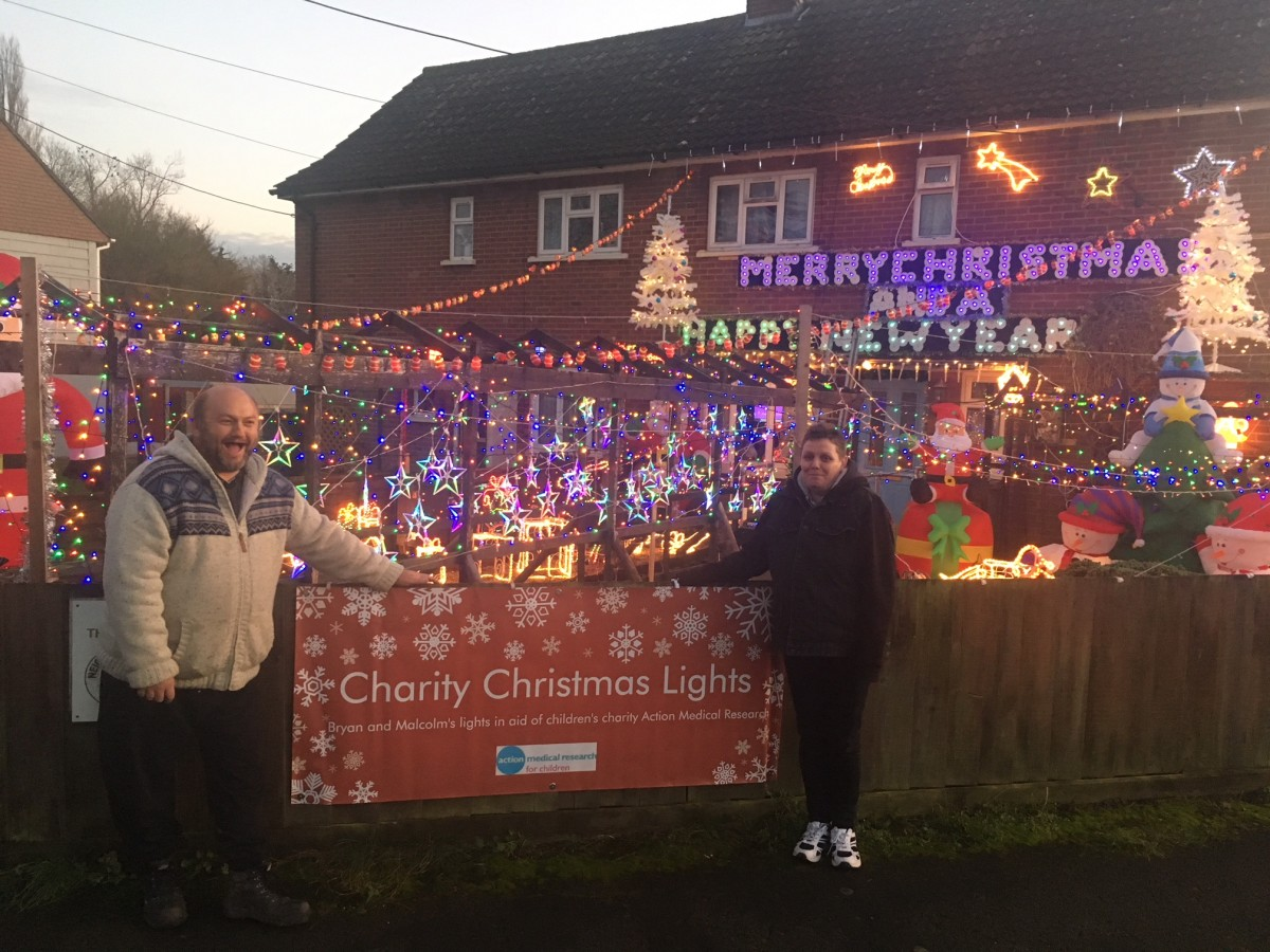 Charity Christmas Decorations Light Up