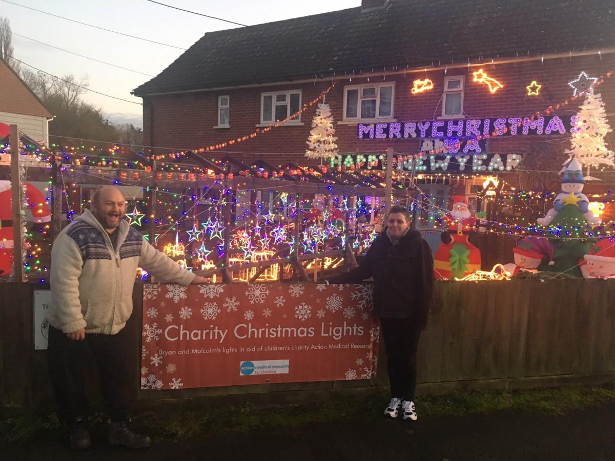 Charity Christmas Decorations Light Up Peasenhall
