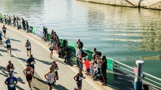Paris Marathon, waterfront image