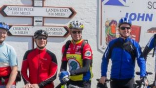 LeJOG Cyclists